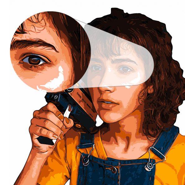 Digital Potret Illustration